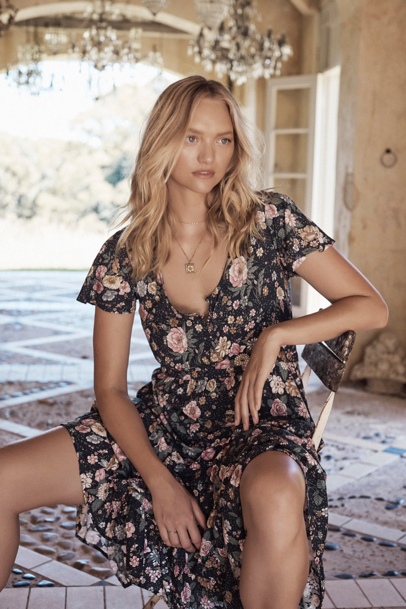 Gemma Ward stars in Auguste The Label Grace campaign