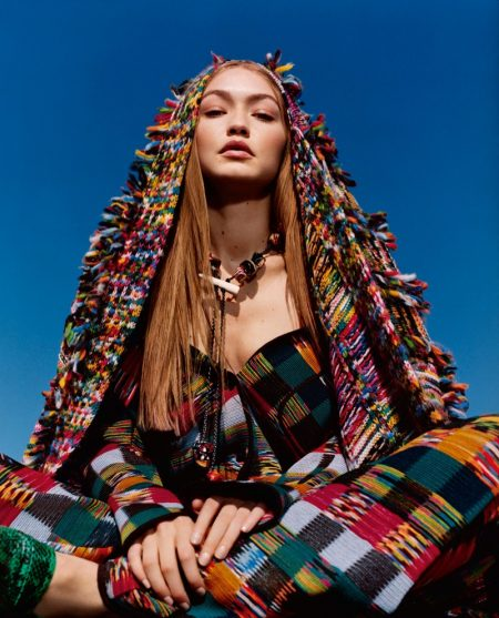 Gigi Hadid stars in Missoni fall-winter 2018 campaign