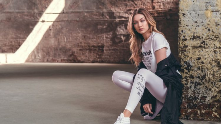 Gigi Hadid Exudes Pure Cool in New Reebok Campaign
