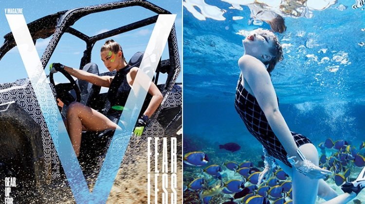 Gigi Hadid Channels Her Inner Bond Girl for V Magazine