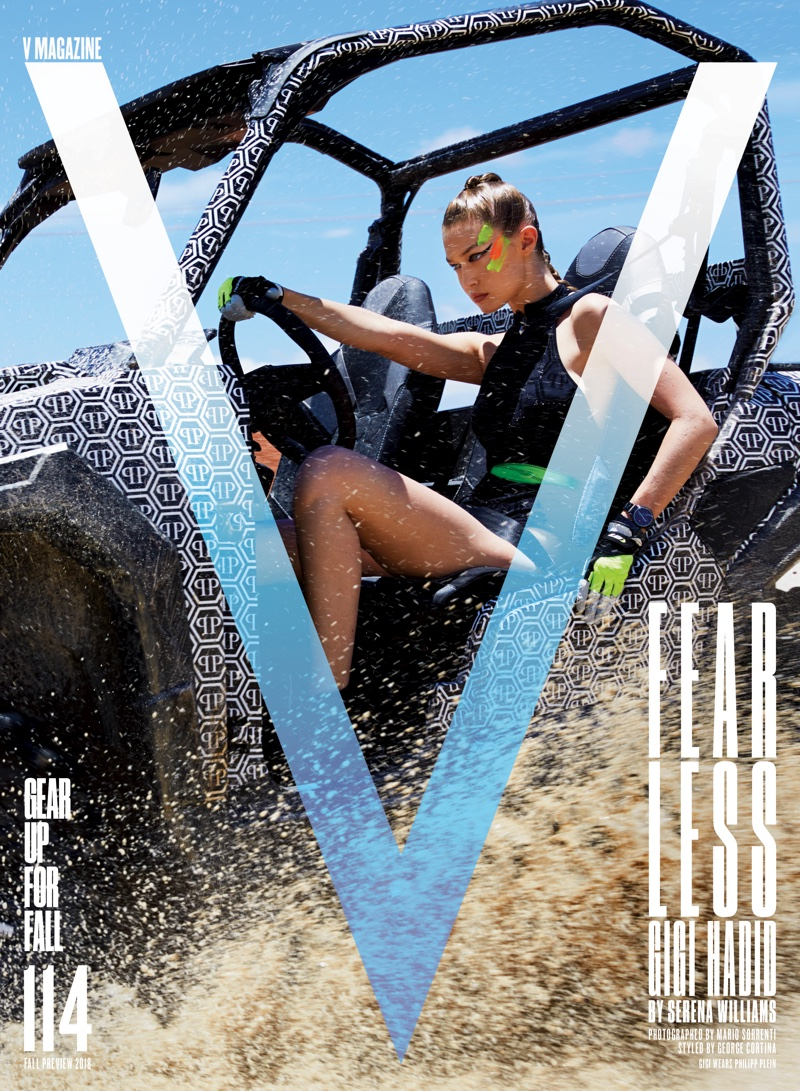 Gigi Hadid on V Magazine Fall Preview 2018 Cover