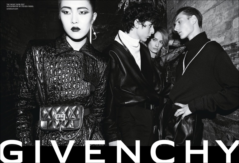 Givenchy unveils fall-winter 2018 campaign - Night Noir
