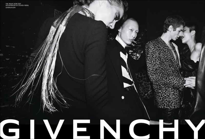Steven Meisel photographs Givenchy fall-winter 2018 campaign