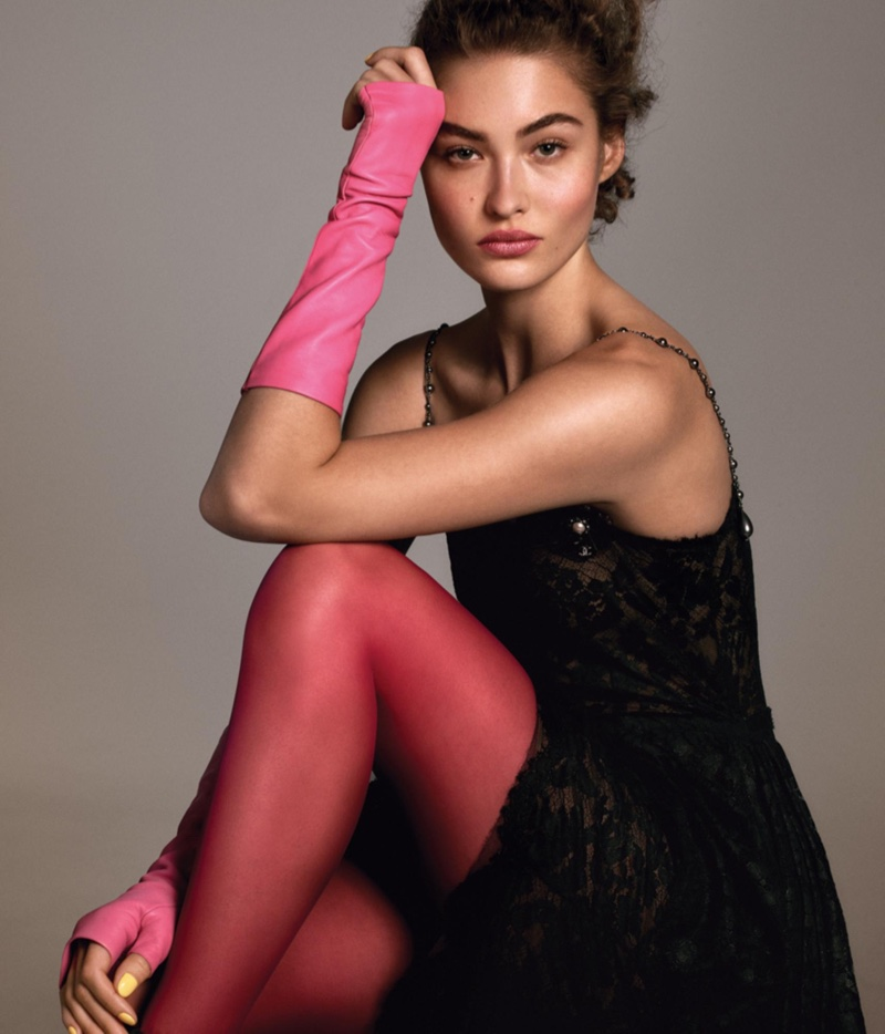 Grace Elizabeth Models Chic Silhouettes for WSJ. Magazine