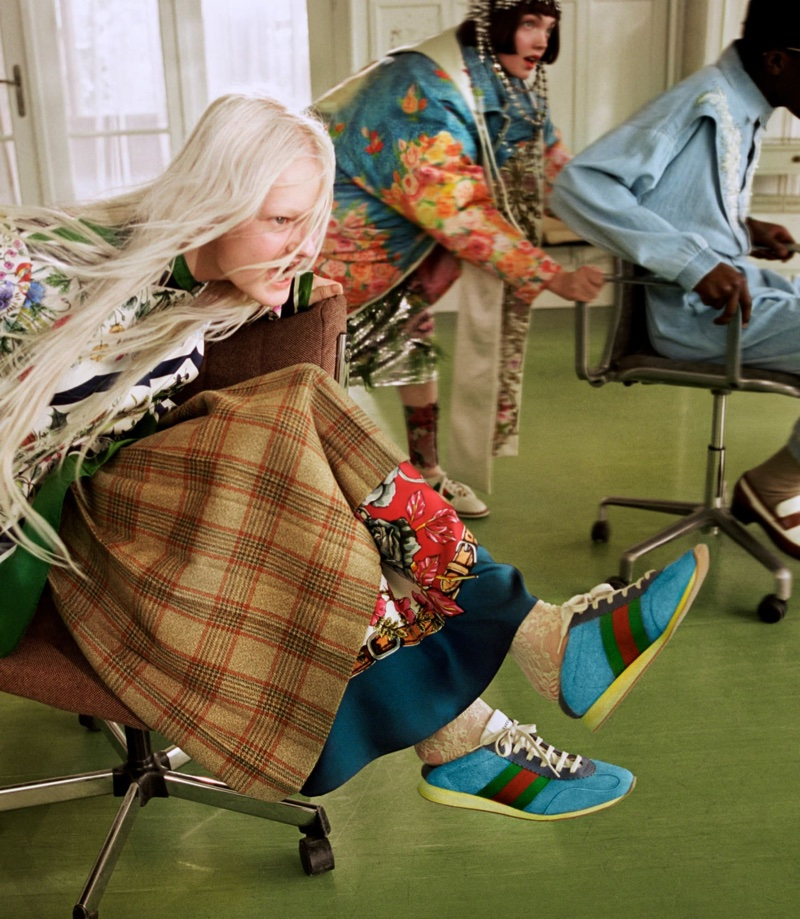 An image from Gucci fall 2018 advertising campaign - Gucci Collectors