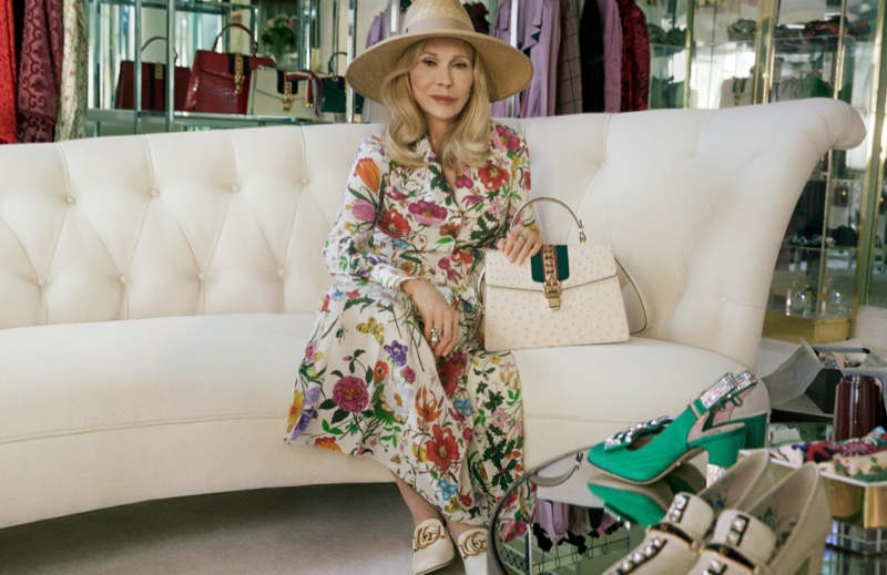 Faye Dunaway Stars in Gucci's Latest Handbag Campaign