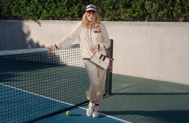 Gucci taps actress Faye Dunaway for Sylvie handbag campaign