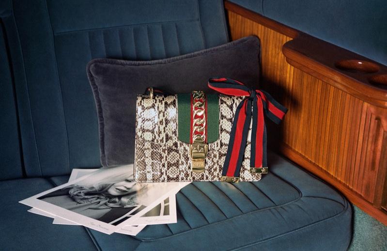 Gucci unveils Sylvie handbag campaign