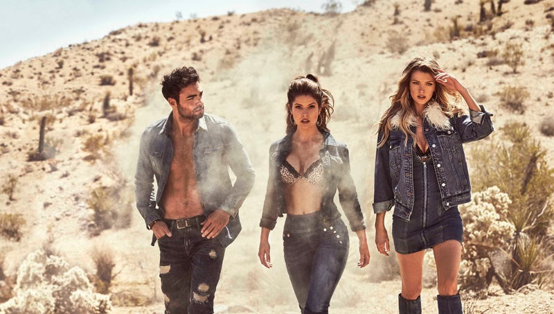 Guess sets fall-winter 2018 campaign in Joshua Tree National Park, California