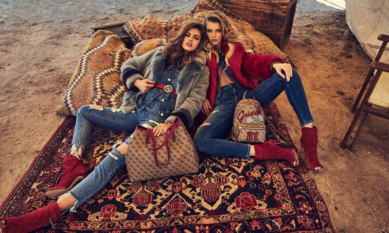 Guess launches fall-winter 2018 campaign