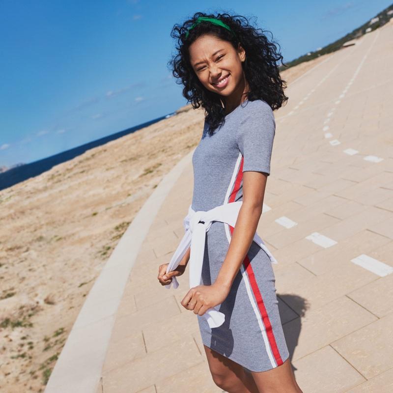 H&M Short-Sleeved Jersey Dress