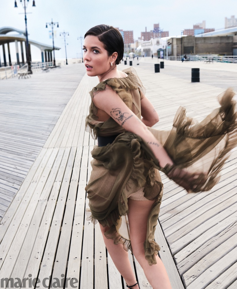 Halsey Takes the Spotlight in Marie Claire