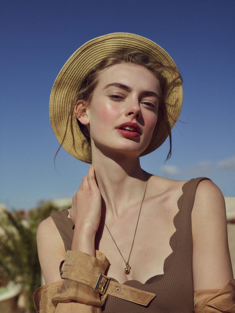 Hanna Verhees Wears Vacation Looks in Hello! Fashion