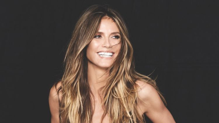 Heidi Klum Rocks Her Swimsuit Designs for Ocean Drive Magazine