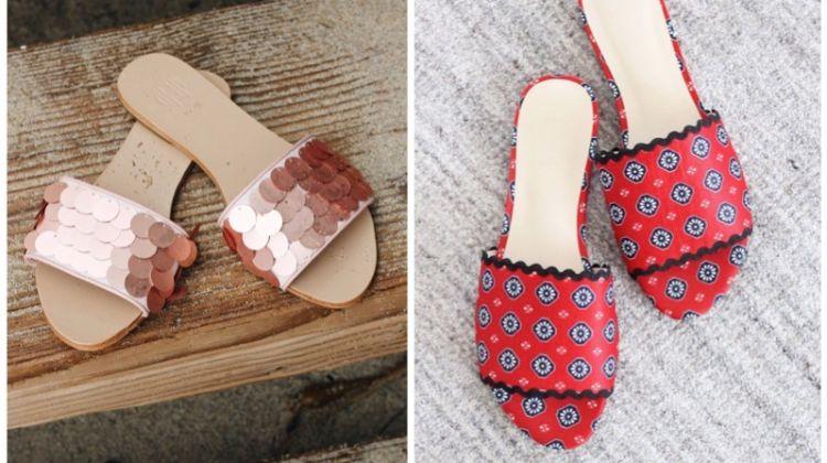 House Harlow 1960 x RAYE summer 2018 sandals