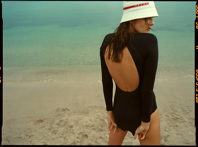 Isabeli Fontana Takes to the Beach for Sunday Times Style