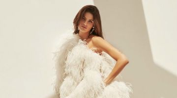 Isabeli Fontana Models All-White Looks for Yo Dona Spain