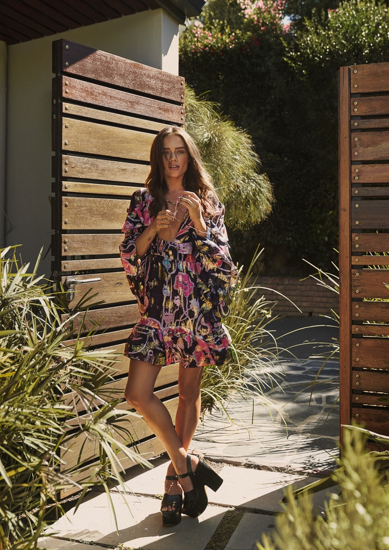 Jessica Lee Buchanan Models Summer Styles in Harper's Bazaar Bulgaria