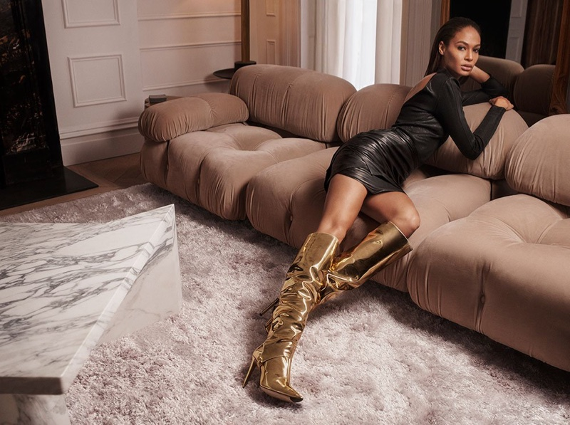 Jimmy Choo taps Joan Smalls for its fall-winter 2018 campaign