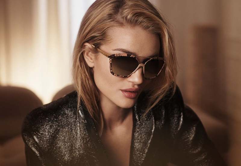 Rosie Huntington-Whiteley stars in Jimmy Choo fall-winter 2018 campaign
