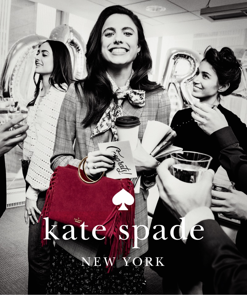 Kate Spade unveils fall-winter 2018 campaign with Margaret Qualley