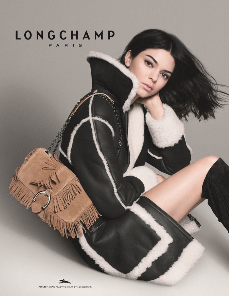 Kendall Jenner stars in Longchamp fall-winter 2018 campaign