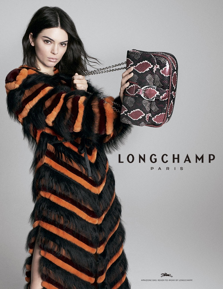 Longchamp enlists Kendall Jenner for fall-winter 2018 campaign