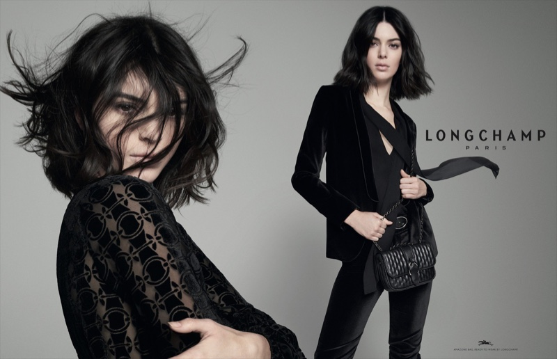 Supermodel Kendall Jenner fronts Longchamp fall-winter 2018 campaign