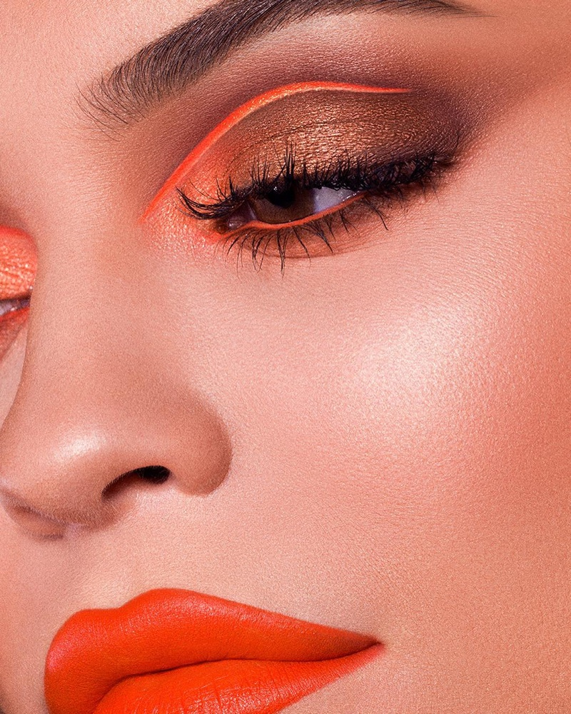 The Summer Palette 2018 collection from Kylie Cosmetics