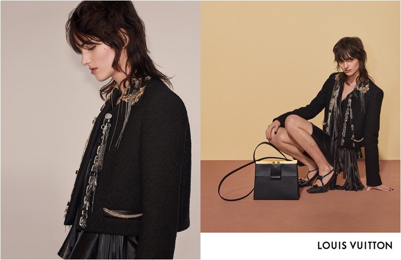 Sarah Brown fronts Louis Vuitton fall-winter 2018 campaign