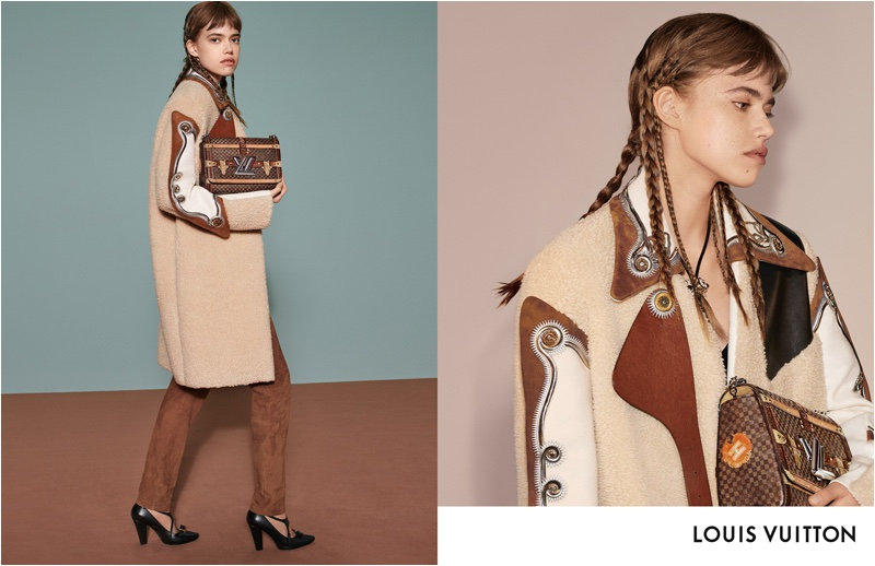 Masha Skokova fronts Louis Vuitton fall-winter 2018 campaign