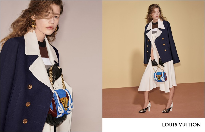 Mariam de Vinzelle stars in Louis Vuitton fall-winter 2018 campaign