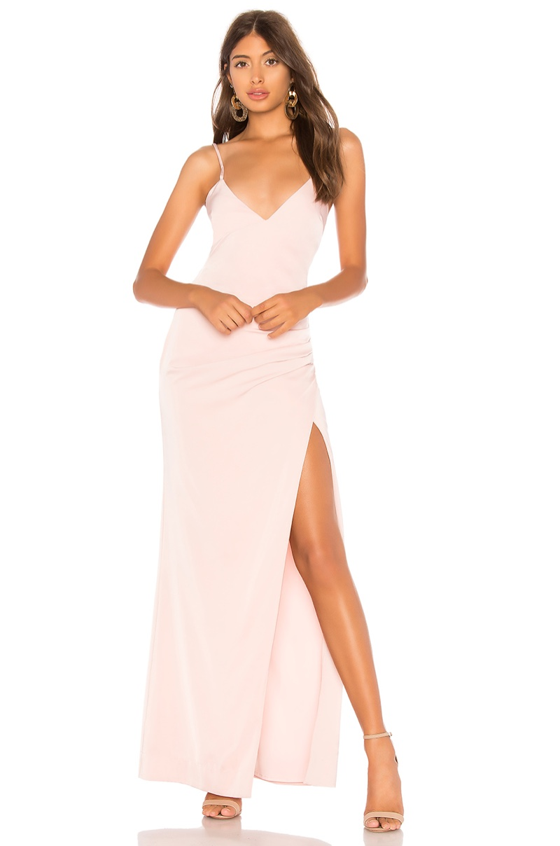 Lovers + Friends Mathy Gown $228