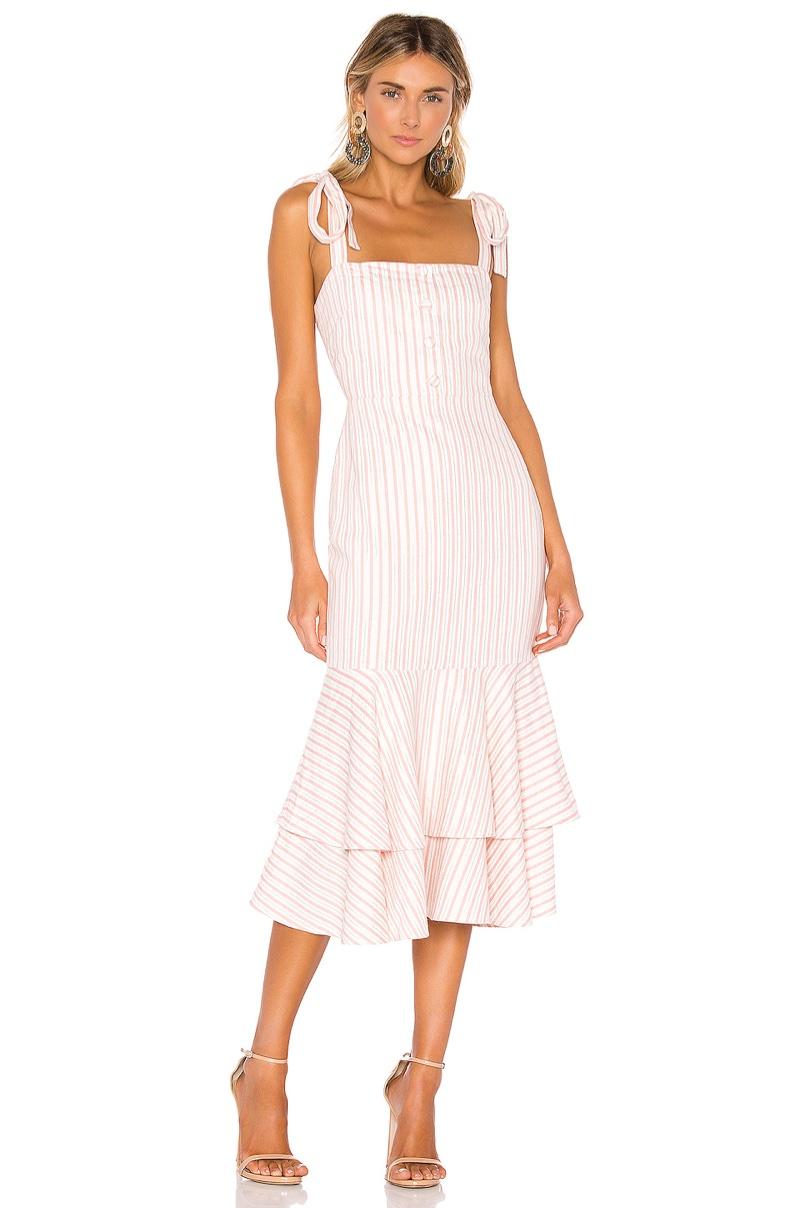 Lovers + Friends Wisdom Midi Dress $228