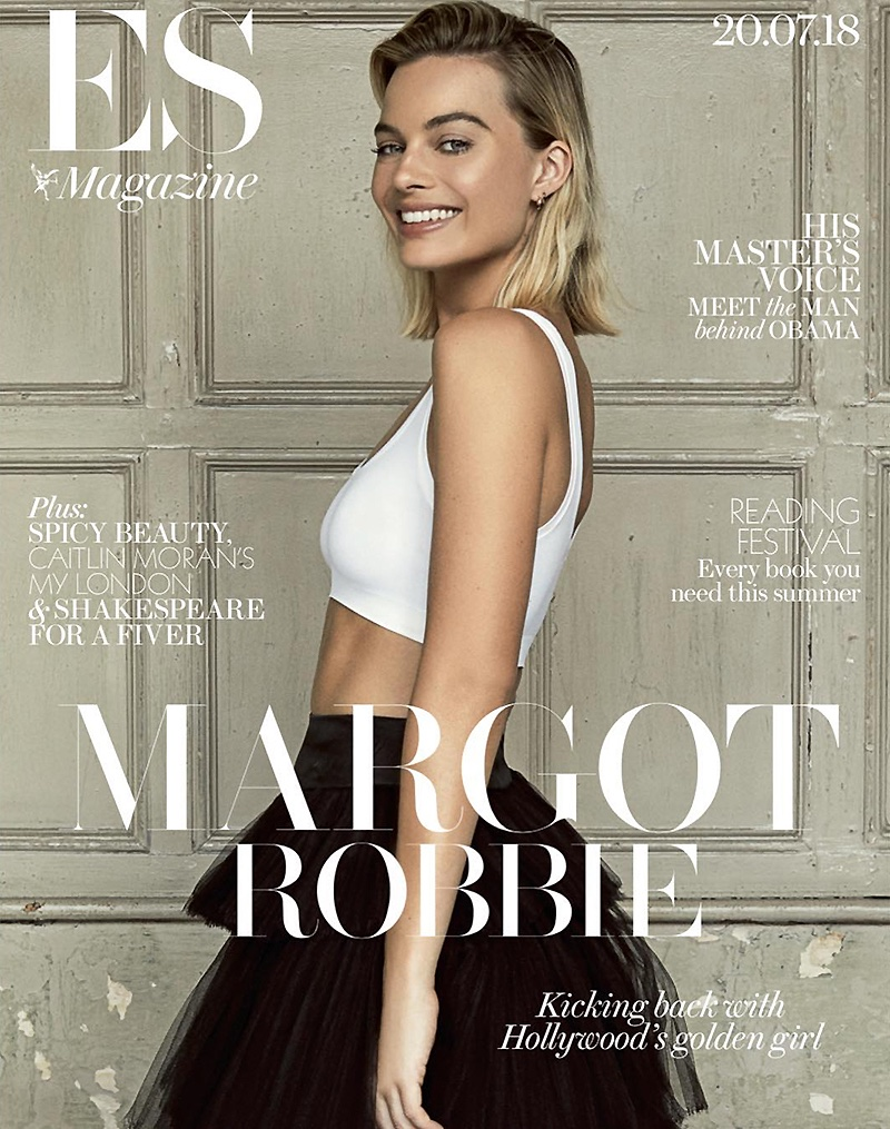 Margot Robbie on ES Magazine July 20th, 2018 Cover