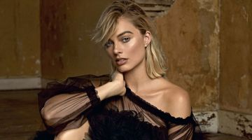 Margot Robbie Poses in Elegant Styles for ES Magazine