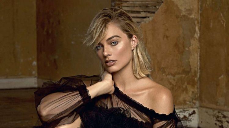 Margot Robbie Poses in Elegant Styles for ES Magazine