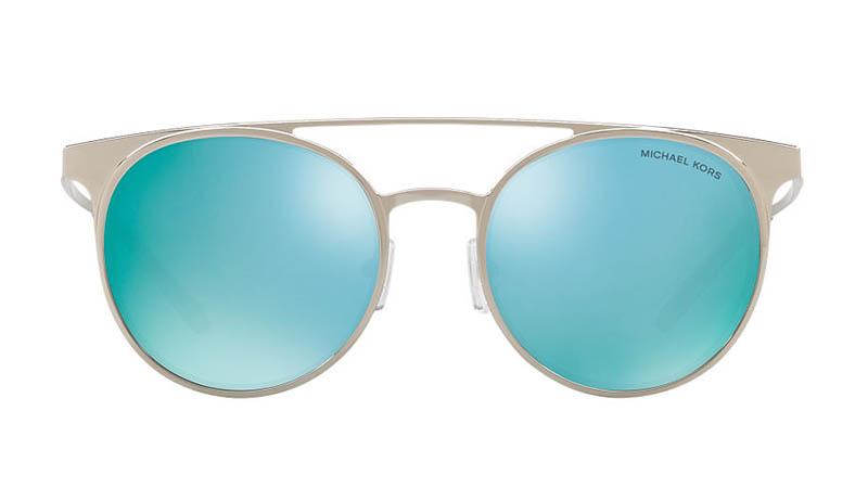 Michael Kors Grayton Sunglasses in Silver/Blue $139