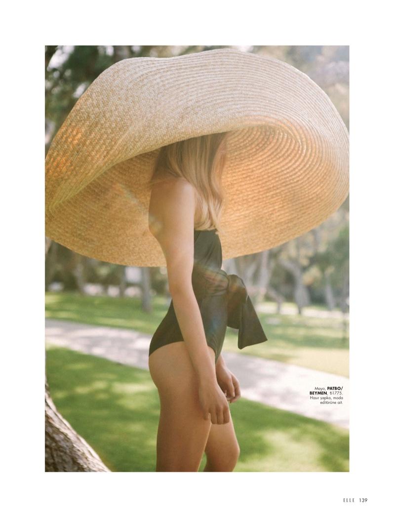 Michela Strate Rules Beach Season for ELLE Turkey