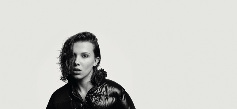 Millie Bobby Brown in Moncler BEYOND campaign