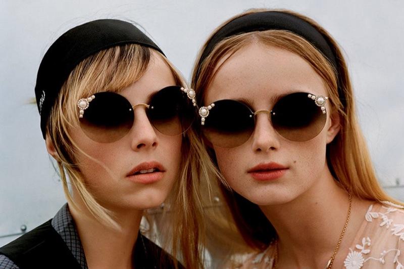 16c0e48436eb Miu Miu | Manière Sunglasses Collection | 2018 | Shop | Fashion Gone ...