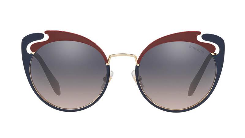 91f47faec586 Miu Miu MU 57TS 54 Sunglasses in Gold Pink  410