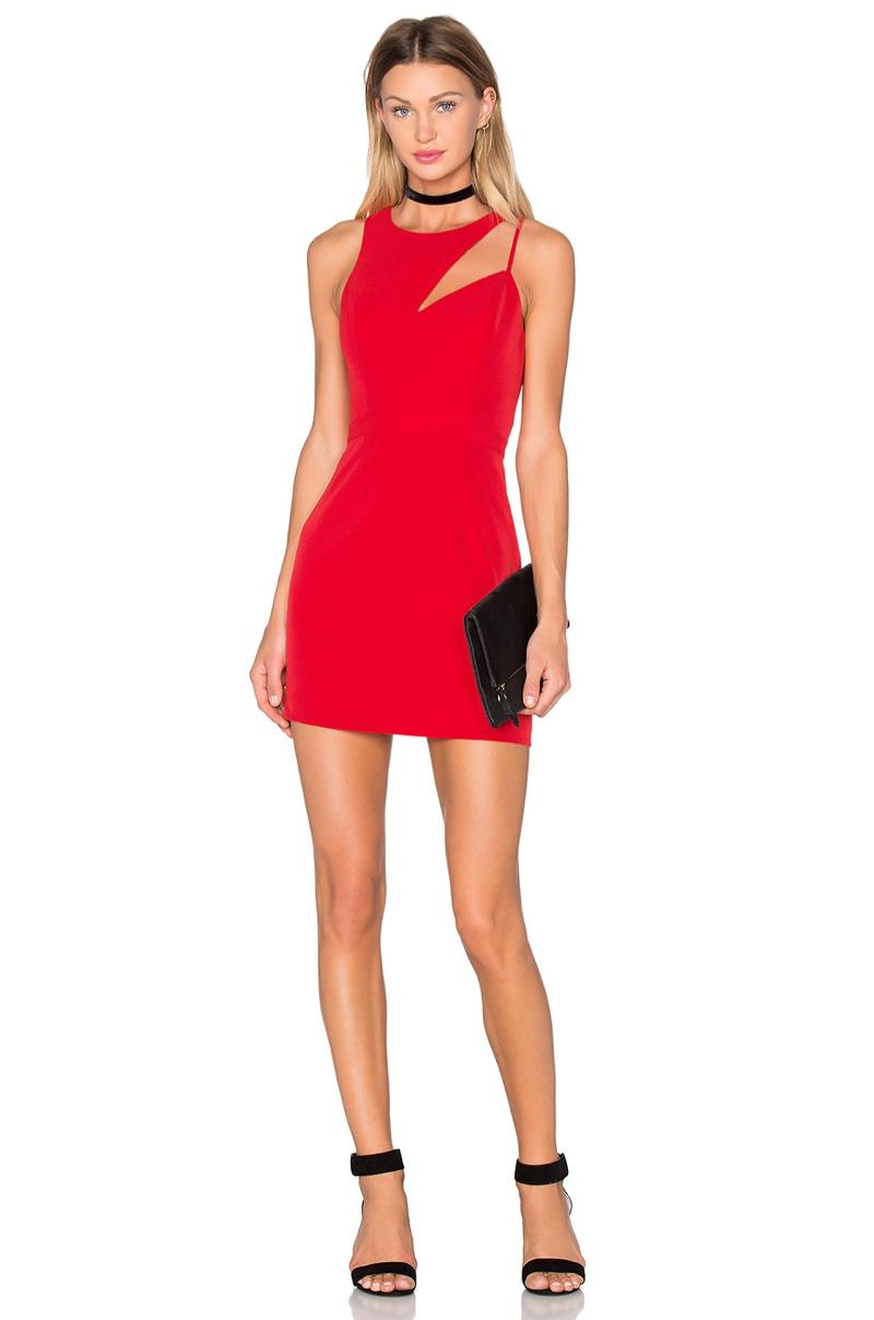 NBD x Naven Cut the Line Bodycon Dress $180