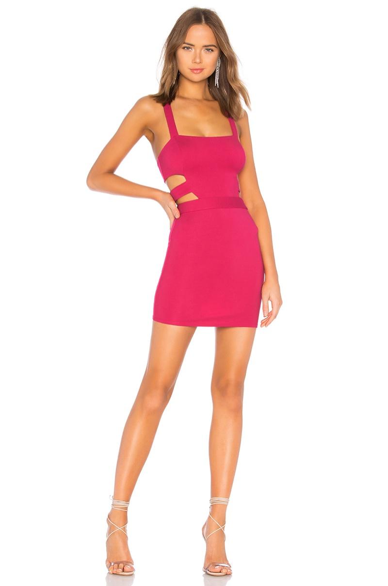 NBD x Naven Jill Dress in Hot Pink $168