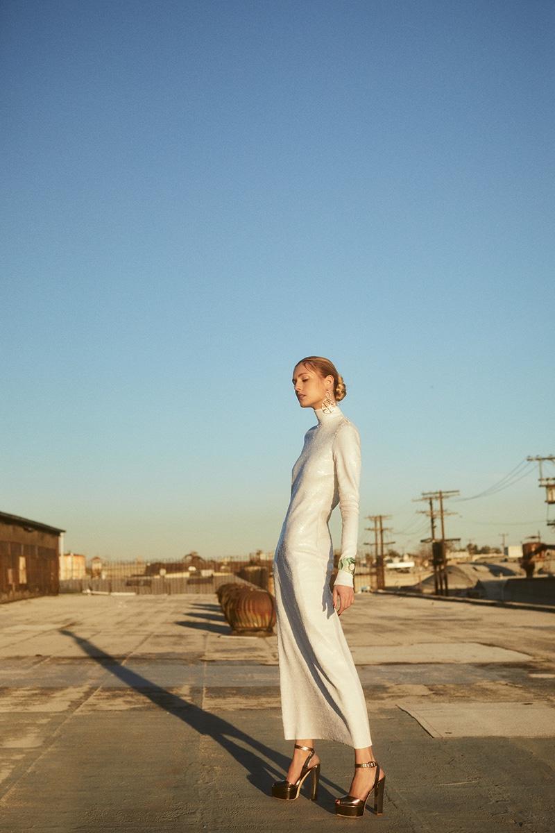 Nadja Bender Turns Up the Opulence for Vogue Arabia