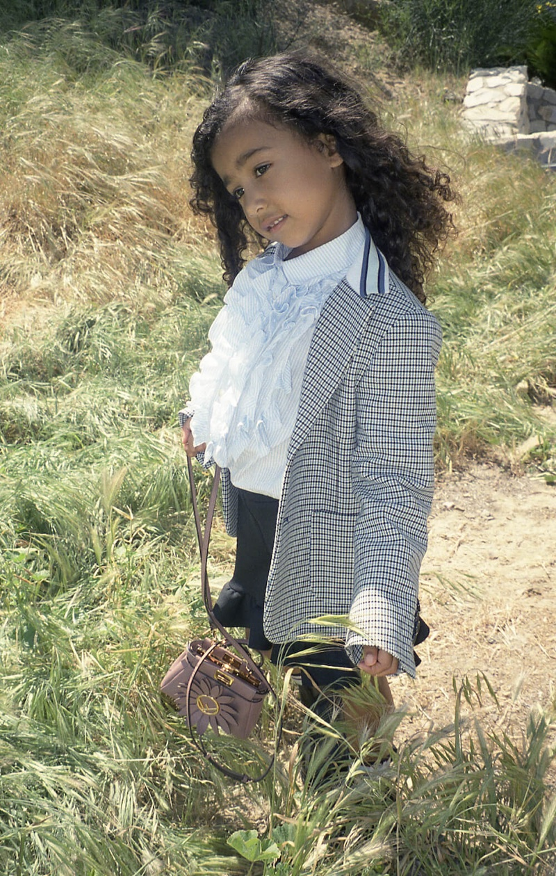 North West stars in Fendi #MeandMyPeekaboo campaign
