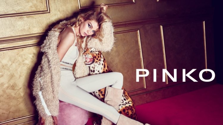 Pinko enlists Stella Maxwell for fall-winter 2018 campaign
