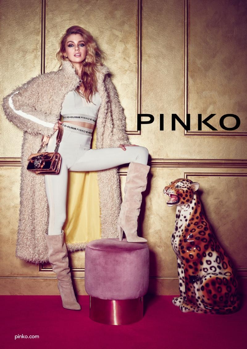 Pinko taps Stella Maxwell for fall-winter 2018 campaign