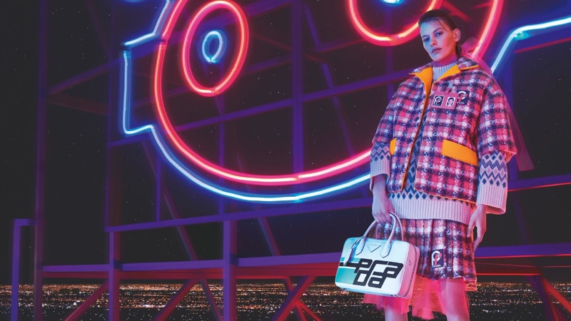 Amanda Murphy fronts Prada fall-winter 2018 campaign