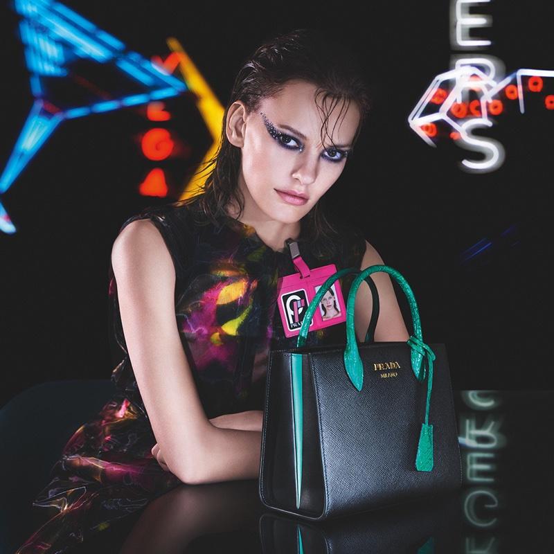 Handbags take the focus in Prada fall-winter 2018 campaign